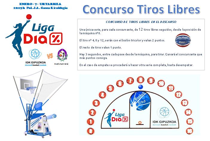 Concurso Tiros Libres IDK vs Sant Adriá