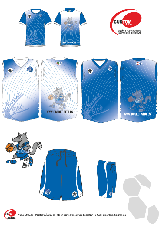 Camisetas Custom Team