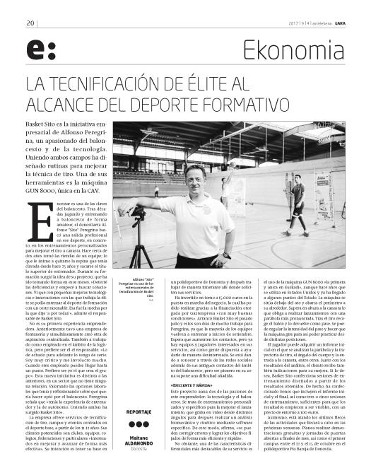 Entrevista GARA Basket_Sito
