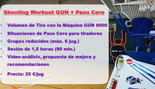Shooting Workout - Paso Cero 2-2