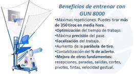 Beneficios de entrenar con GUN 8000
